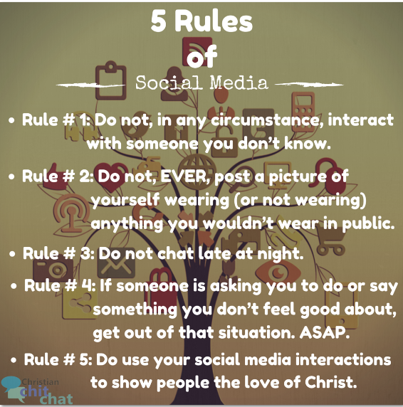 5 Rules of Social Media Web